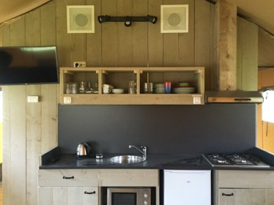 keuken glamping